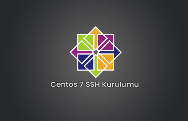 Centos 7 SSH Kurulumu