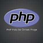 PHP Pdo ile Örnek Proje